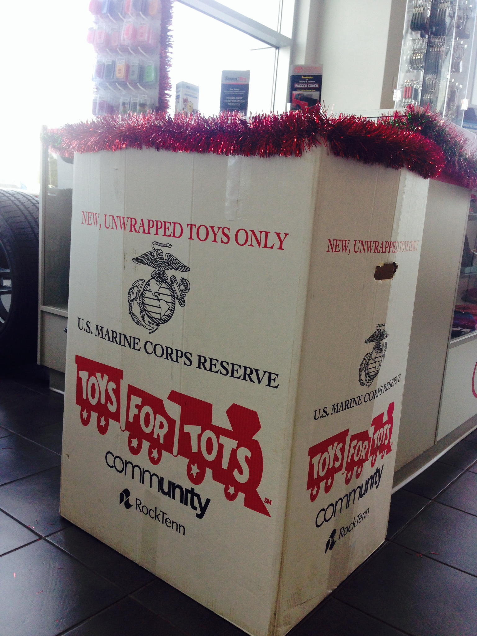 Toys For Tots Box : Milton ruben auto group just another wordpress site