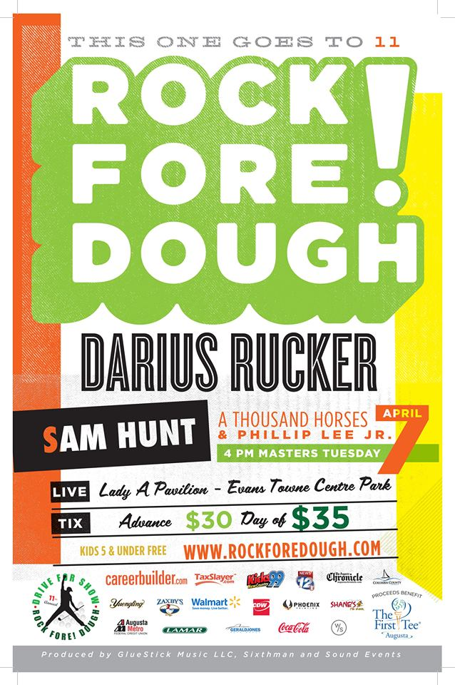 Win Rock Fore! Dough Tickets at Milton Ruben Superstore ...